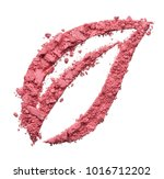 stencil in the shape of a leaf... | Shutterstock . vector #1016712202