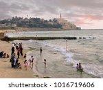 tel aviv   yafo  israel   may...   Shutterstock . vector #1016719606