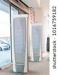 scanner entrance gate for... | Shutterstock . vector #1016759182