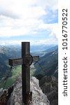 Small photo of Trekking in the austrian alps (Tyrol/Stubaier Alpen)