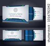 corporate business card... | Shutterstock .eps vector #1016782342