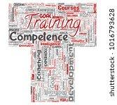 vector conceptual training ... | Shutterstock .eps vector #1016793628