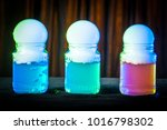 dry ice in the soap bubble.... | Shutterstock . vector #1016798302