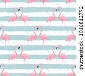 abstract seamless pattern with... | Shutterstock .eps vector #1016812792