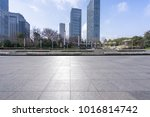 empty marble floor with... | Shutterstock . vector #1016814742