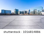 empty marble floor with... | Shutterstock . vector #1016814886