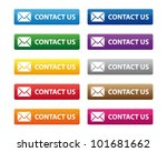contact us buttons | Shutterstock .eps vector #101681662
