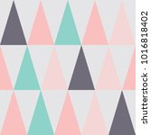 seamless pattern design with... | Shutterstock .eps vector #1016818402