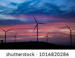 wind power mills  thailand | Shutterstock . vector #1016820286
