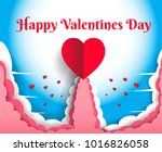 happy valentine's day have a... | Shutterstock .eps vector #1016826058