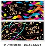 carnival background.... | Shutterstock .eps vector #1016852395