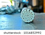 cross section of aluminum power ... | Shutterstock . vector #1016852992
