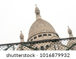 white cupola of basilica of the ... | Shutterstock . vector #1016879932