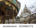 paris  france   january 02 ... | Shutterstock . vector #1016882176