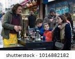 paris  france   january 03 ... | Shutterstock . vector #1016882182