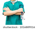 close up of professional male... | Shutterstock . vector #1016889016