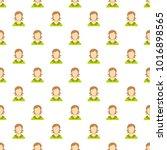 girl user pattern seamless in...
