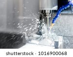 high precision cnc machining... | Shutterstock . vector #1016900068
