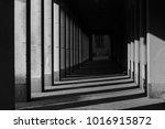 city shadows tunnel | Shutterstock . vector #1016915872