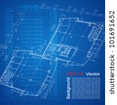 urban blueprint  vector .... | Shutterstock .eps vector #101691652