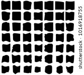 grunge halftone black and white ... | Shutterstock . vector #1016918755