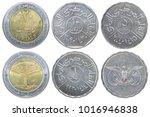 full set of yemeni rials... | Shutterstock . vector #1016946838