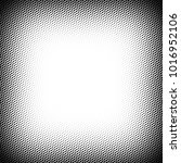 halftone frame design element ... | Shutterstock .eps vector #1016952106
