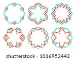 floral ornament. isolated... | Shutterstock .eps vector #1016952442