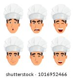 face expressions of young... | Shutterstock .eps vector #1016952466