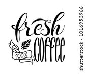 lettering fresh and natural... | Shutterstock .eps vector #1016953966