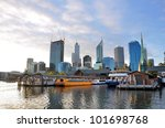 Beautiful View Of Perth City...