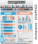 infographics city | Shutterstock .eps vector #101699422
