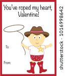 you have roped my heart... | Shutterstock . vector #1016998642