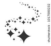 shine. black stars of... | Shutterstock .eps vector #1017000232