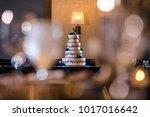 wedding cake at reception | Shutterstock . vector #1017016642