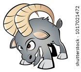 cartoon illustration of an... | Shutterstock .eps vector #1017021472