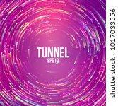 circular geometric vector... | Shutterstock .eps vector #1017033556