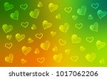 light green  yellow vector... | Shutterstock .eps vector #1017062206