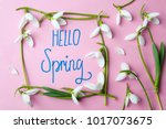 Hello Spring Handwritten Note...