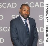 Small photo of Cress Williams attends the 6th annual SCAD aTV Fest 2018 in Atlanta, Georgia - USA at the Four Seasons Hotel Atlanta on February 3rd 2018