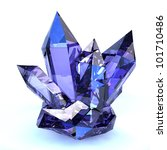 amethyst crystal | Shutterstock . vector #101710486