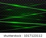 abstract green laser beams.... | Shutterstock .eps vector #1017123112
