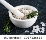 close up view of mortar and... | Shutterstock . vector #1017126616
