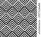 seamless pattern with striped... | Shutterstock .eps vector #1017126688