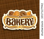 vector logo for bakery | Shutterstock .eps vector #1017127942