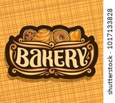 vector logo for bakery ... | Shutterstock .eps vector #1017133828