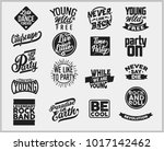 cool awesome slogans typography ... | Shutterstock .eps vector #1017142462