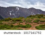 scenic view at loveland pass ... | Shutterstock . vector #1017161752