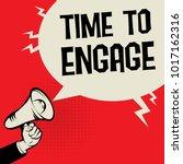 megaphone hand business concept ... | Shutterstock .eps vector #1017162316