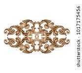 classical baroque vector of... | Shutterstock .eps vector #1017175456